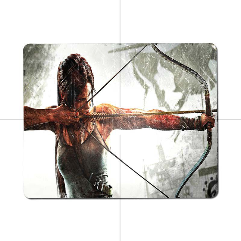 MaiYaCa tomb raider Gamer Speed Mice Retail Small Rubber Mousepad Size for 180x220x2mm and 250x290x2mm Small Mousepad