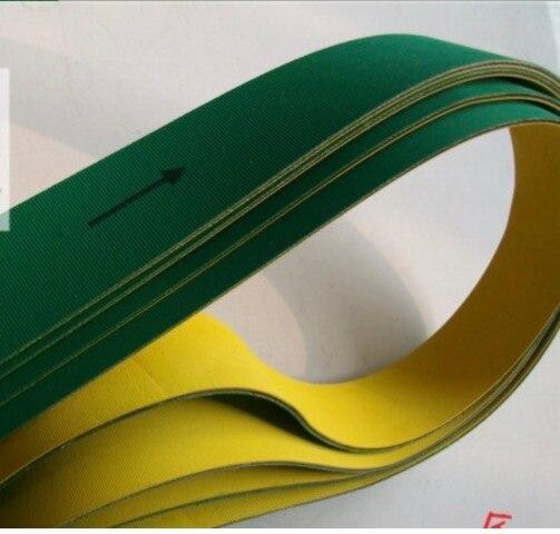 1700x100x3mm Nylon puce bande de Base Textile plat bande transporteuse Transmission courroie de distribution