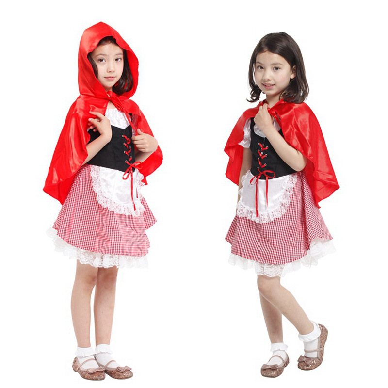 Free Shipping Halloween Christmas Carnival Costumes For Children Kids -8469