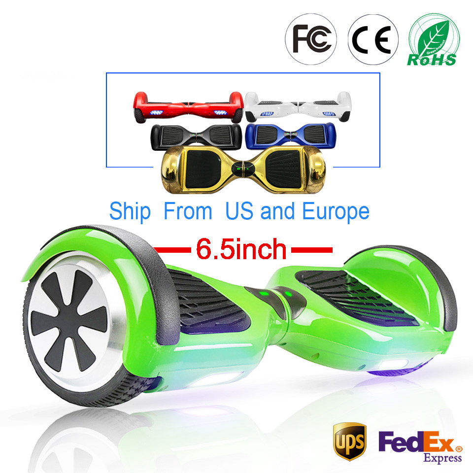 Hoverboard 6.5 inch Smart Self Balance Scooter 2 Wheel Hoover Boosted Hover Board Giroskuter Car Unicycle RU EU Warehouse