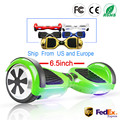 Hoverboard 6.5 inch Smart Self Balans Scooter 2 Wiel Hoover Boosted Hover Board Giroskuter Auto Eenwieler RU EU Magazijn