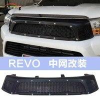 Лидер продаж автомобильные аксессуары Revo Бесплатная доставка для hilux Revo крышка высокое качество автомобиля решетка аксессуары Chrome Hilux аксе