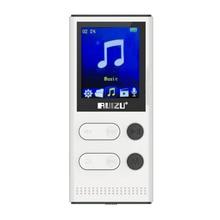 Original Táctil de Tono HIFI Reproductor MP3 8 GB RUIZU Alta Calidad de Sonido de nivel de Entrada Lossless Reproductor de Música DEL TF tarjeta de Radio FM