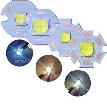 CREE XHP50 XHP70 XHP50.2 XHP70.2, 2 génération, blanc froid, blanc chaud, émetteur LED, émetteur en cuivre 6V 12V, 20mm, PCB en cuivre