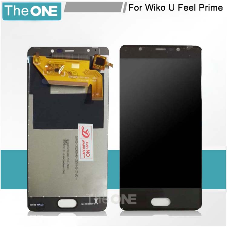 ФОТО Black/White/Gold For Wiko U Feel Prime LCD Display+Touch Screen Assembly for wiko u feel prime lcd display free shipping