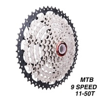 9 Speed Cassette 11 50T Mountain Bike Wide Ratio MTB Bicycle 9S Freewheel Compatible with Shimano M430 M4000 M590|Bicycle Freewheel|   -
