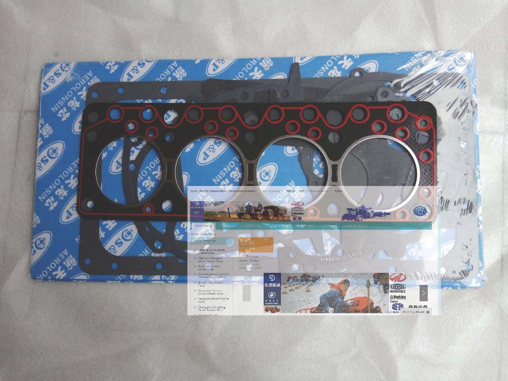 Anhui Quanchai QC480D engine parts, the set of gasket kit including the head gasket