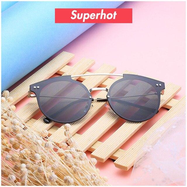 f2772da8a7f Superhot Eyewear - Fashion Double Bridge Sunglasses Men Women Sun glasses  Black Shades Designer Lady Sunnies