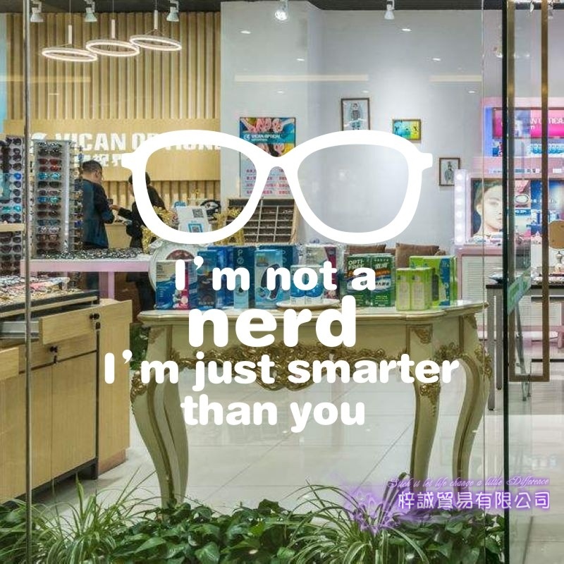 205afedaf8 Dctal Glasses Optical Sticker Eye Care Shop Decal Store Posters Vinyl Wall  Decals Parede Decor Mural