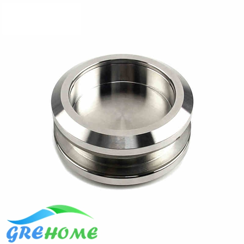 304 brushed Stainless steel bathroom glass door round handles knobs pulls brushed stainless steel 304 grade door number 3