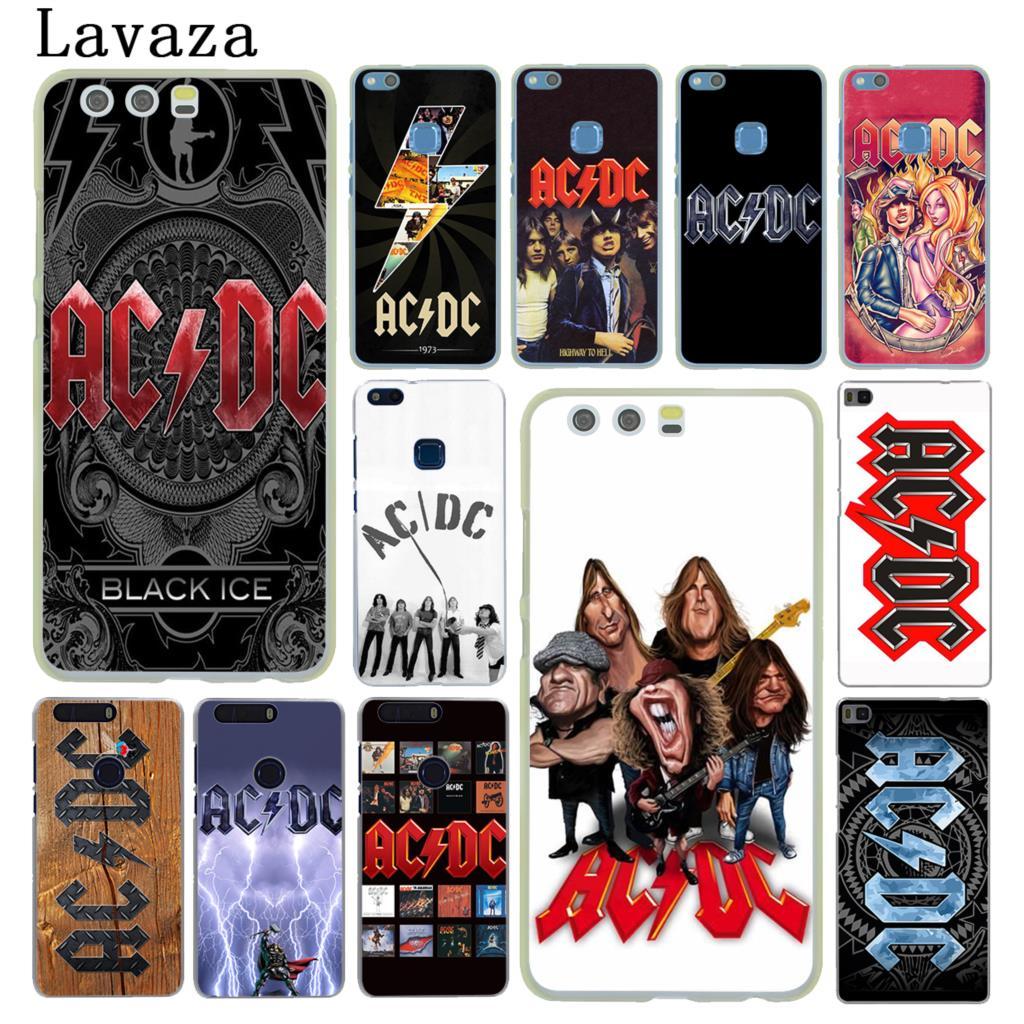 Lavaza ac dc acdc poster music Hard Case for Huawei P20 P10 P9 Plus P8 Lite Mini 2015 2016 2017 P Smart & Mate 9 10 Lite Pro
