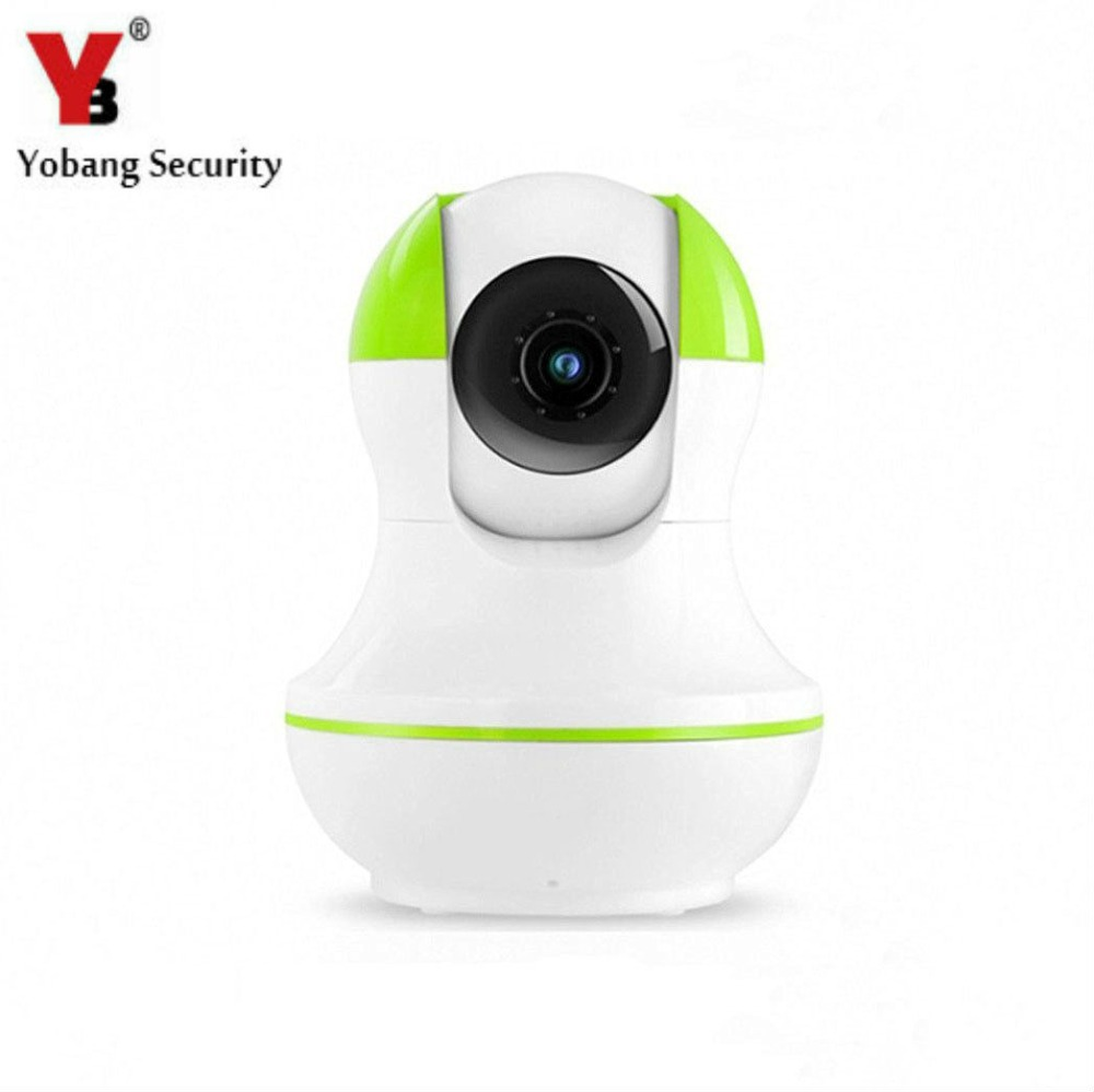 YobangSecurity 720P Wireless Wifi IP Network Home Monitoring Video Surveillance Security Camera with Two-Way Audio Alarm Push
