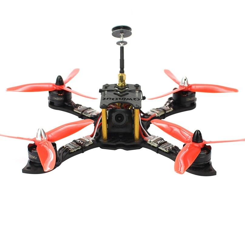 210mm Mini RC Quadcopter Racer FPV Racing Drone ARF con 2300KV Motor 700TVL Cámara F4 Pro (V2) controlador de vuelo-in Helicópteros RC from Juguetes y pasatiempos    1