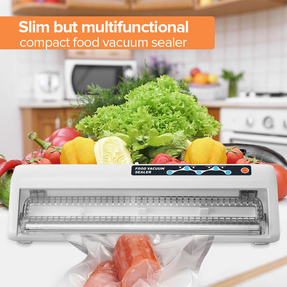 LAIMENG Cheap Vacuum Sealer For Food Products Best Vacuum Paking Machine With Gift Spoon Scale Vacuum Bags Dhl Free Shipping