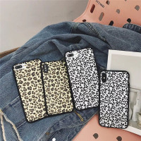 New Fashion Sexy Wild Leopard Grain Print Soft Silicone Mobile Phone Cases For IPhoneX 8 8Plus