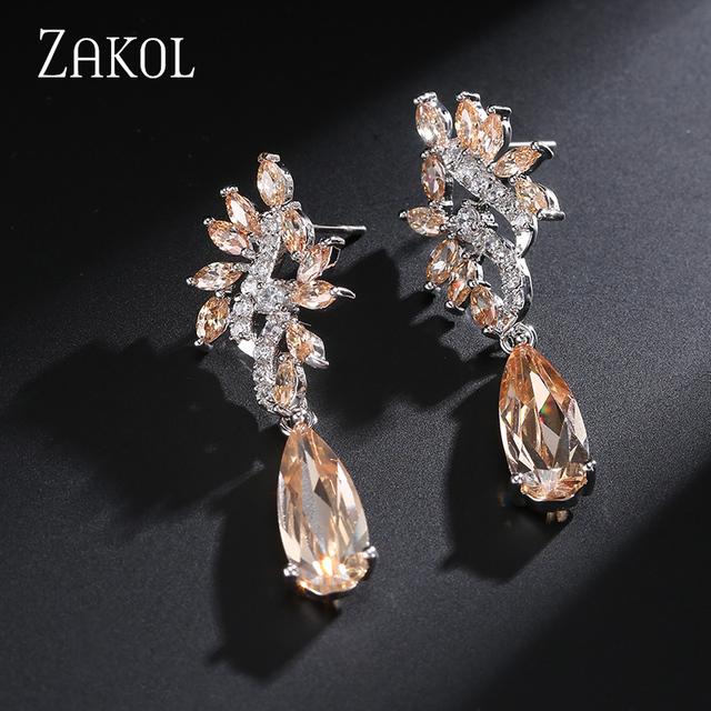 Very High Quality Angel Wings Crystal Earrings