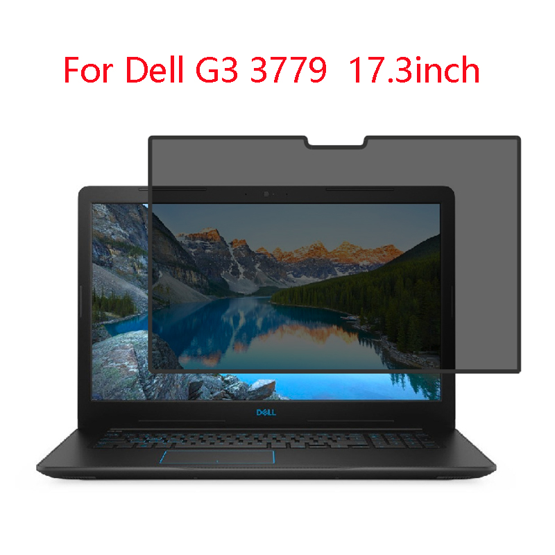 For <font><b>Dell</b></font> G3 <font><b>3779</b></font> 17.3inch laptop screen Privacy Screen Protector Privacy Anti-Blu-ray effective protection of vision image