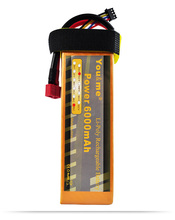 You&me 6000mAh 11.1V 50C Max 100C 3S RC LiPo Li-Poly Battery for rc helicopter quadcopter