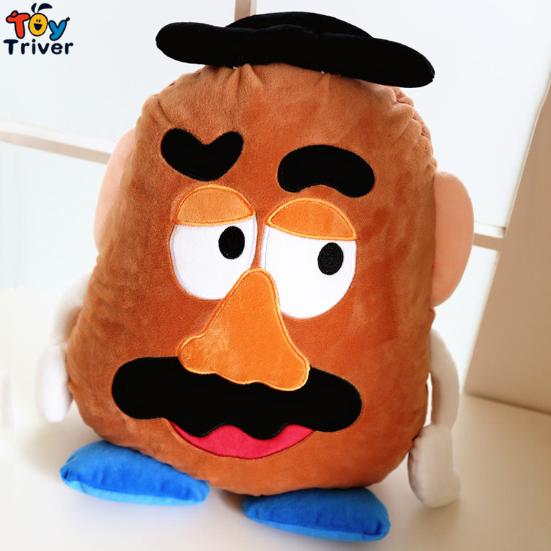 Plush Mr Potato Blanket Toy Stuffed Doll Cushion Pillow Air Condition Office Car Nap Travel Carpet Kids Shower Birthday Gift in Stuffed Plush Animals from Toys Hobbies