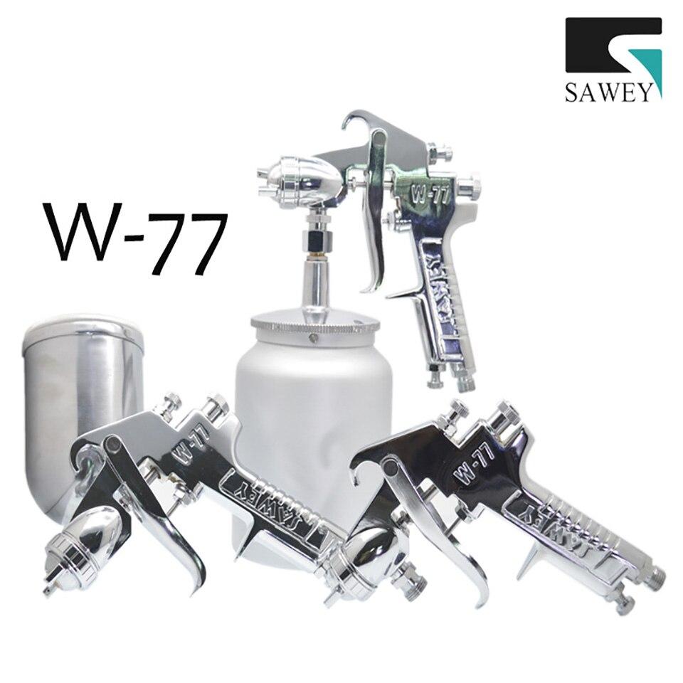 SAWEY W-77 1.2/1.5/2.0/2.5mm Small and medium spray guns,FREE SHIPPING