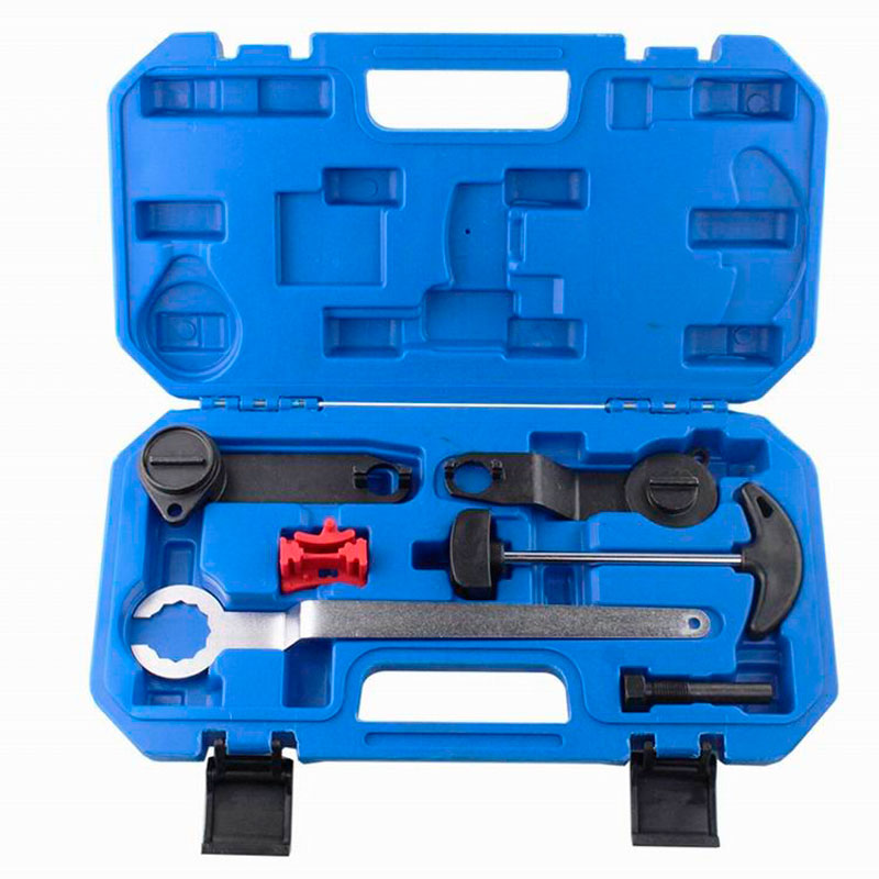 6Pcs/Set VAG Timing Toolkit For VW/Audi/Skoda 1.0/1.2/1.4 TSI TGI Automotive Engine Timing Camshaft car repair tool kit  engine camshaft locking setting timing tool kit for audi a1 a3 a4 a5 a6 tt skoda vw vag 1 6 2 0l tdi st0196