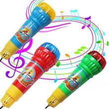 Echoไมโครโฟนไมค์เปลี่ยนเสียงของเล่นของขวัญวันเกิดที่ปัจจุบันเด็กพรรคเพลง
