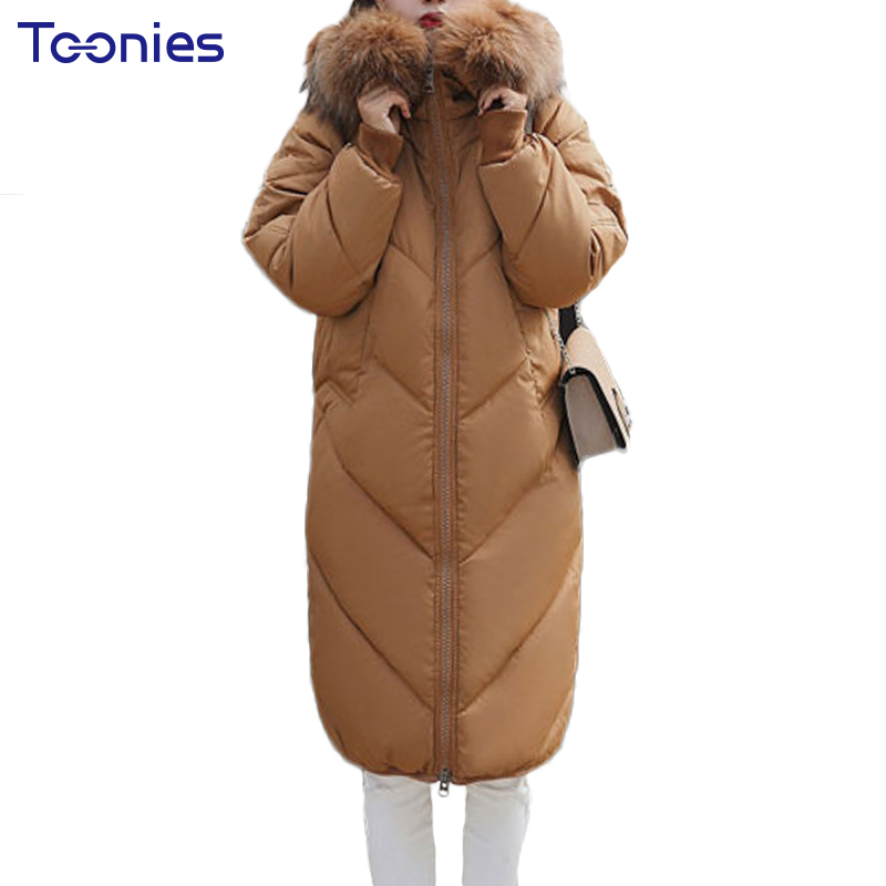 Women's Thick Warm Long Winter Jacket Women Padded Parkas Loose Ladies Quilted Coats Plus Size 2xl Ultralight Outwear Hooded Top dower me women jacket 2017 autumn winter new fashion parkas padded ladies coats long quilted jackets plus size 3xl 4xl outerwear