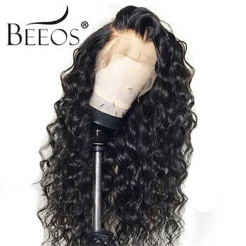 BC Curly 13*6 Brazilian Lace Front Human Hair Wigs With Baby Hair Lace Front Wig Remy Hair Wig Pre Plucked Bleached Knots - DISCOUNT ITEM  47% OFF All Category