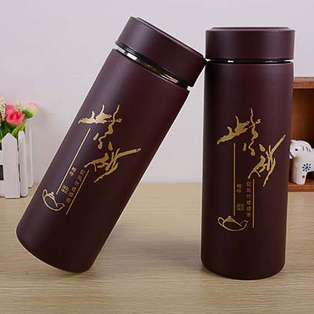 Travel Mug Tea Coffee Water Vacuum Cup Thermos Bottle Stainless Steel with tea infuser water bottle