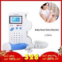 Cofoe Fetal Doppler Baby's Heartbeat Detector Fetal Heart Monitors Portable Ultrasound Doppler Handheld Prenatal Monitor At Home