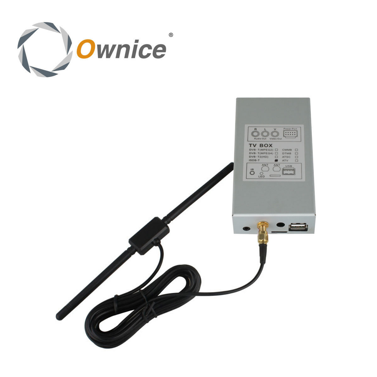 Special ISDB-T  Digital TV Box For Ownice Car DVD.The Item Just Fit For Our Car DVD