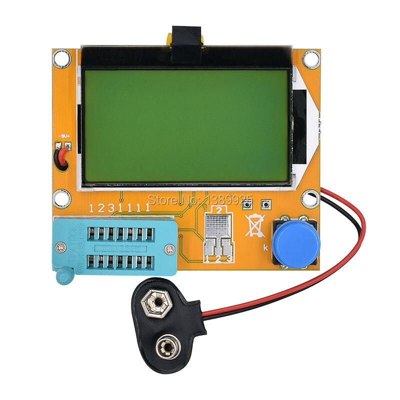 Hot LCR-T4 Mega328 M328 ESR Meter LCR led Transistor Tester Diode Triode Capacitance MOS PNP/NPN Electric Meter