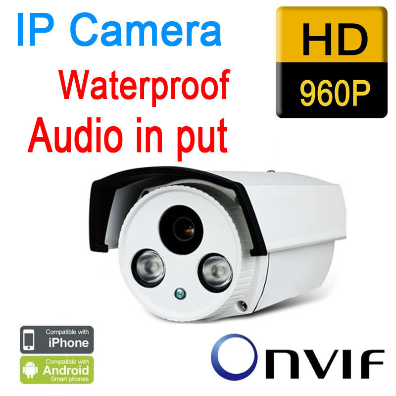 Free shipping cctv ip camera outdoor 960p 1.3mp waterproof hd p2p plug play night vision ir light onvif security seguranca waterproof industrial plug socket 32a 5pin 400v electric female plug p 025 waterproof socket p 125 total 4pcs free shipping