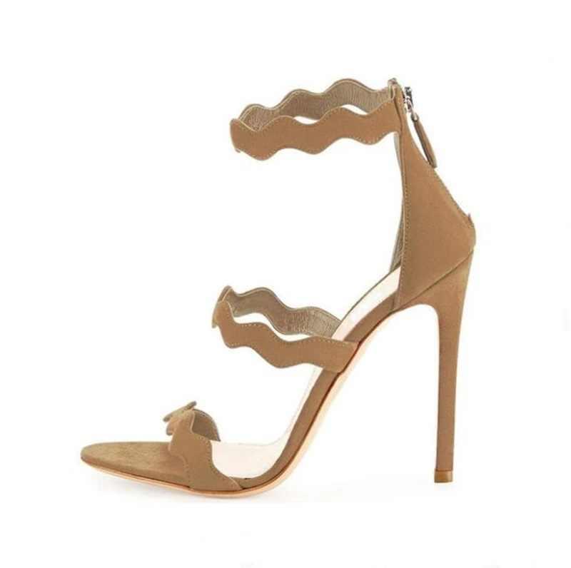لوح الأشرطة براءات الاختراع والجلود الصنادل سستة خنجر عالية الكعب مأدبة اللباس مضخات متعددة الخيارات مفتوحة تو الكعب السيدات أحذية