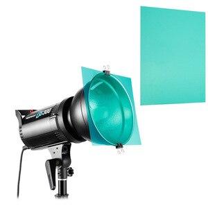 Image 4 - 11in1 30 cm 12 אינץ פלאש צבע סרט וידאו אור צילום מסנן אביזרי עבור Aputure 120dii 120d 300d Godox DE300 מהבהב
