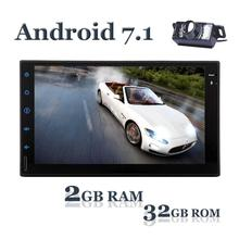 Android 7.1 Car Stereo Radio Octa Core with Bluetooth GPS Navigation Support Fastboot Wifi MirrorLink AUX USB SD Backup Camera