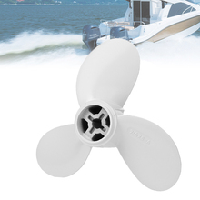 3 Blades 7 1/4x5-A Propellers Prop Aluminum Outboards Propeller White