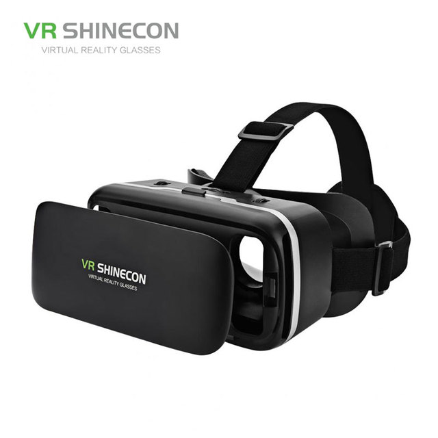 VR SHINECON G04 Virtual Reality Headset 3D VR Glasses for 4.7-6.0 inches Android iOS Smart Phones 1