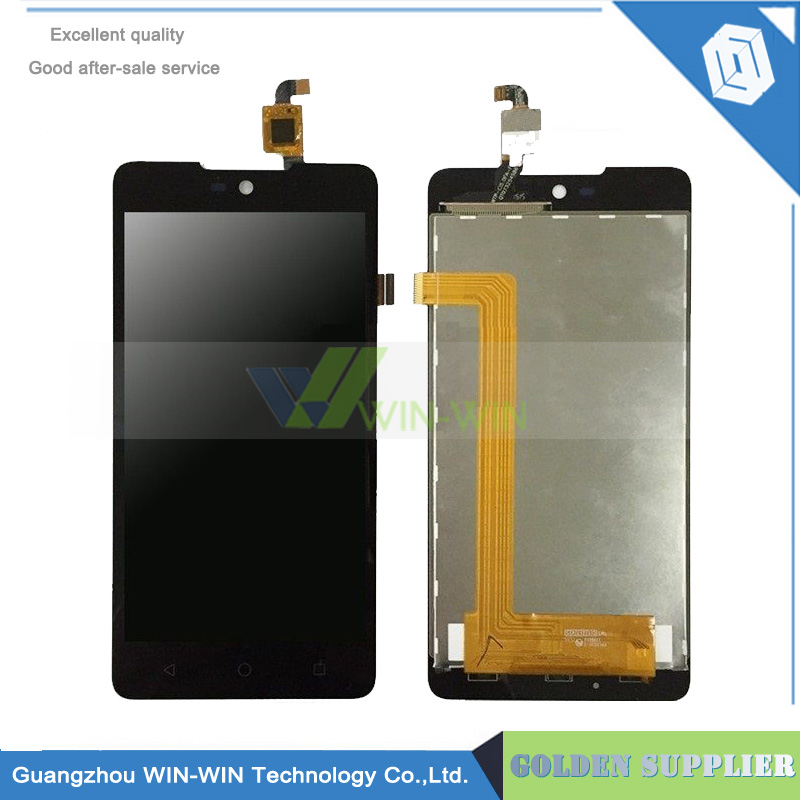 10 pcs/lot Lcd Screen For Wiko Rainbow Lite 4G Full Lcd Display Touch Screen Digitizer Assembly tracking code