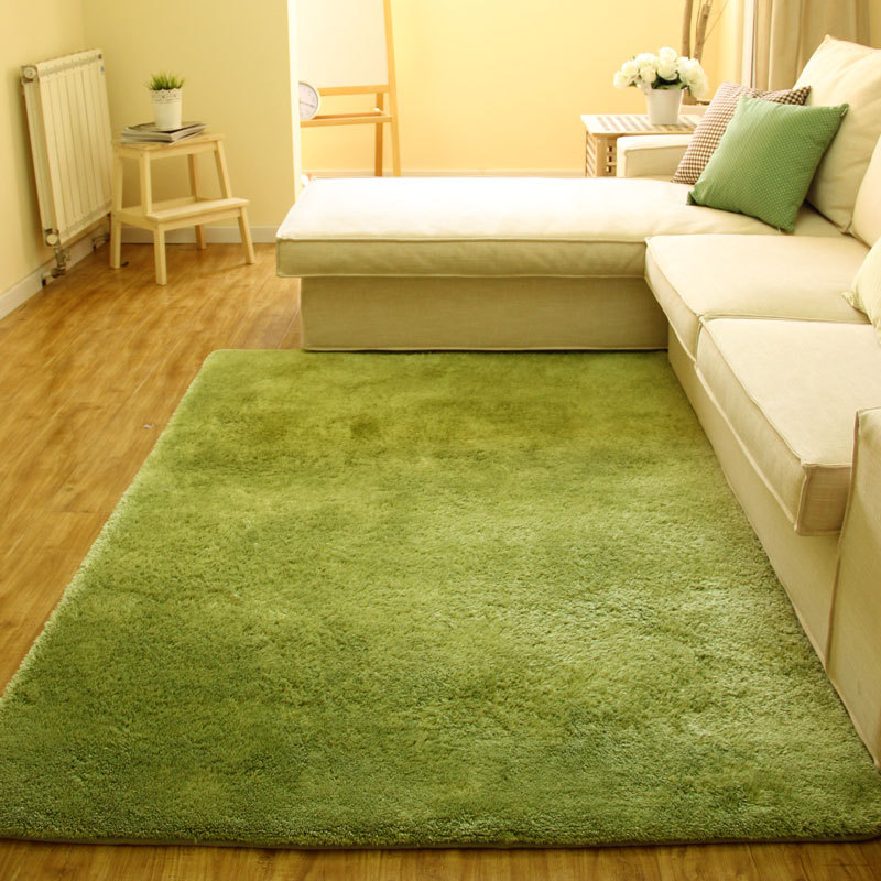 New Customizable Large Size Plush Shaggy Soft Carpet Area Rugs Slip Resistant Floor Mats For Living Room Bedroom Wool Length 4cm