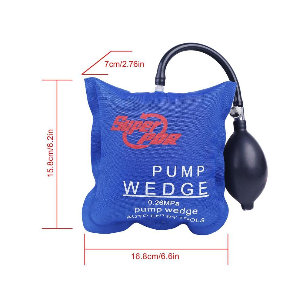 GLCC PDR pompe Wedge voiture automatique serrurier d'air outils Air Wedge Airbag verrouillage d'entrée Auto Airbag choisir peinture outil de réparation de Dent