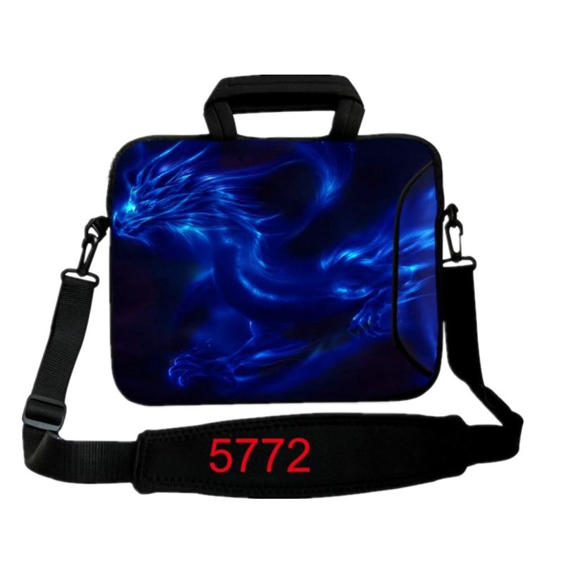 Blue Dragon Laptop Sleeve Case 10 12,13,14,15 17 inch Notebook Computer Shoulder Bag For MacBook
