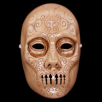 High Quality Resin Collection COS Harry Potter Death Eaters Mask Halloween Horror Scary Mask Masquerade Party Cosplay Props