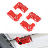 Auto Car Inner Accessories Car Top Roof Handles Cover Trim Styling Sticker Fit For Wrangler Rubicon