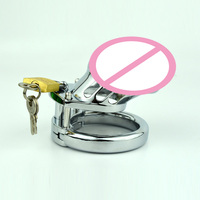 Chastity Device Belt CB6000s Stainless Steel Metal Cock Ring Adjustable Penis Ri