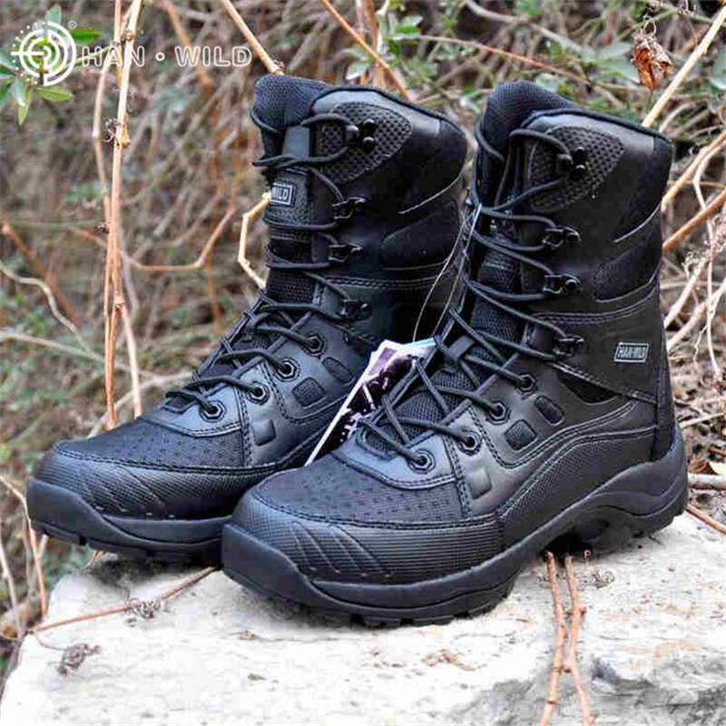 где купить  Professional Army Boots For Men Ultralight Jungle Boots Men Military Combat Boots Tactical Desert Shoes Men Outdoor Ankle Boots  по лучшей цене