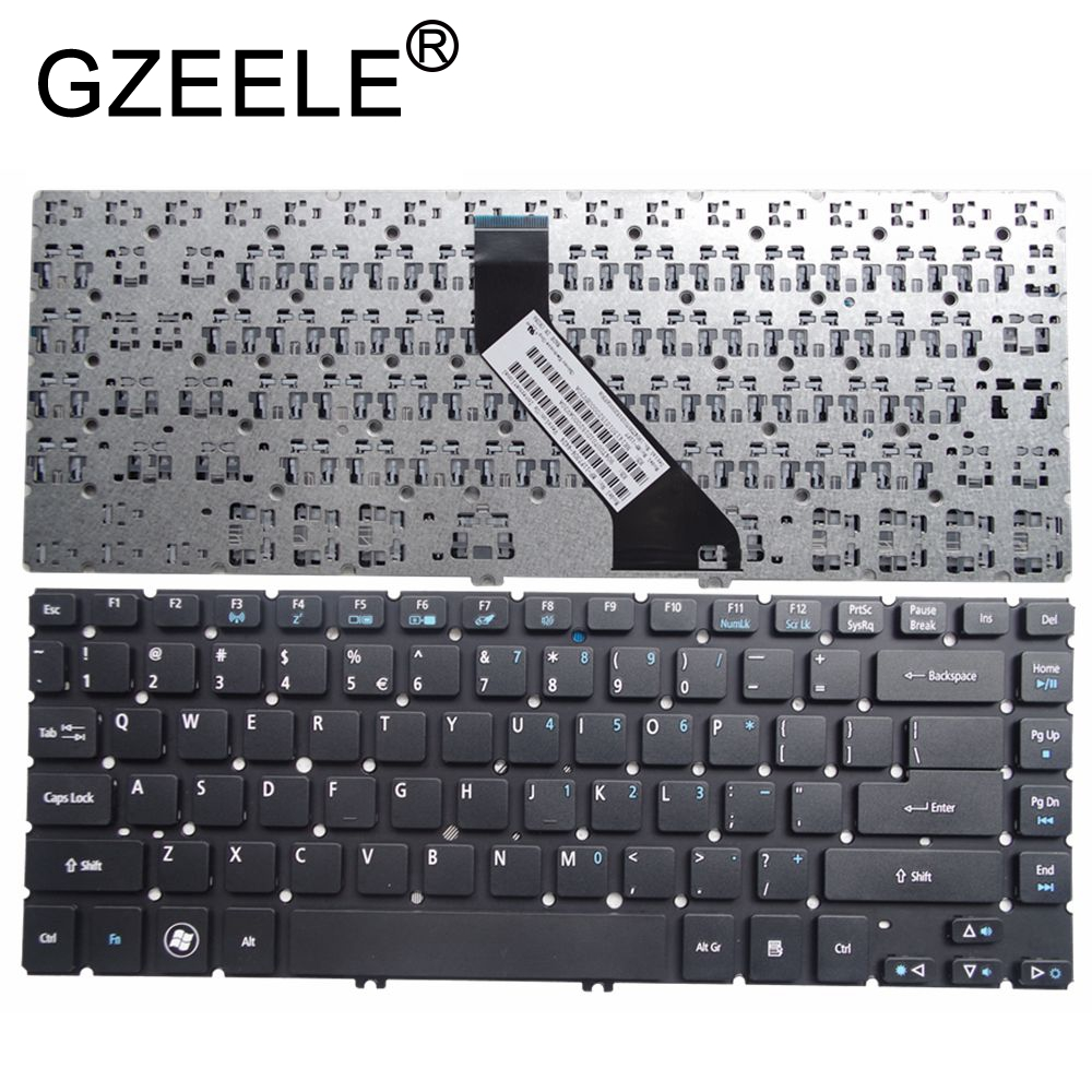 GZEELE NEW For Acer Aspire MS2360 V5-471 V5-471G V5-471P V5-471PG Notebook Keyboard US Black