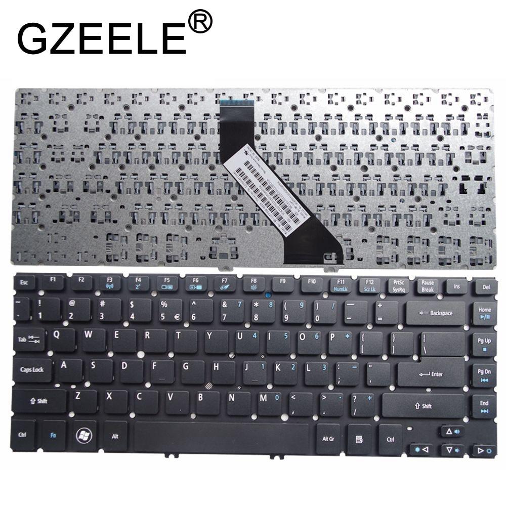 GZEELE NEW For Acer Aspire MS2360 V5-471 V5-471G V5-471P V5-471PG Notebook Keyboard US Black