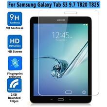 Prima a prueba de Explosiones Vidrio Templado Para El Samsung Galaxy Tab S3 9.7 T820 T825 Tablet Protector de Pantalla Para Galaxy Tab S3 9.7