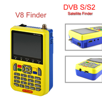 Genuine V8 Finder DVB S S2 High Definition Support 1080P HD MPEG 4 With 3